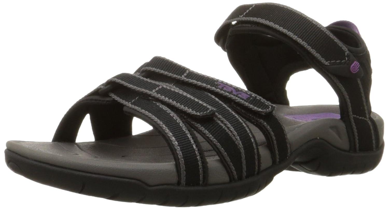 Teva Women's Tirra Athletic Sandal B004YB9NTA 7.5|Black/Gray