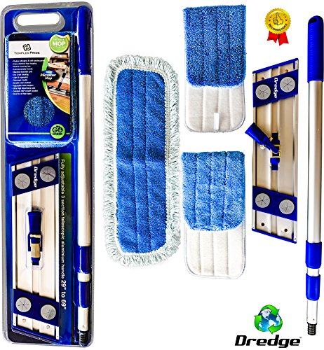 professional-microfiber-mop-for-hardwood-tile-laminate-stone-floors-dredge-best-all-in-1-kit-dry-wet