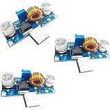 HiLetgo® 3個セット 5A DC-DCステップダウン調整可能電源モジュール降圧コンバータ 4~38V 電源アウトプット1.25-36V [並行輸入品]