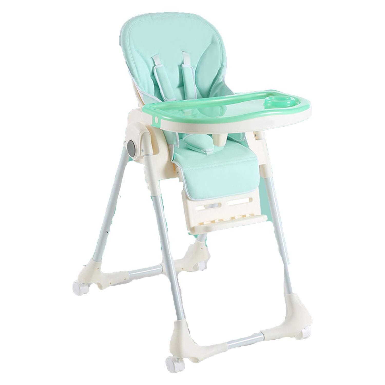 赤ちゃん椅子子供のダイニングテーブルの椅子多機能子供軽い折り畳み式赤ちゃんは調節可能な食べる79 * 60 * 104 Cm   B07JBDFVHW