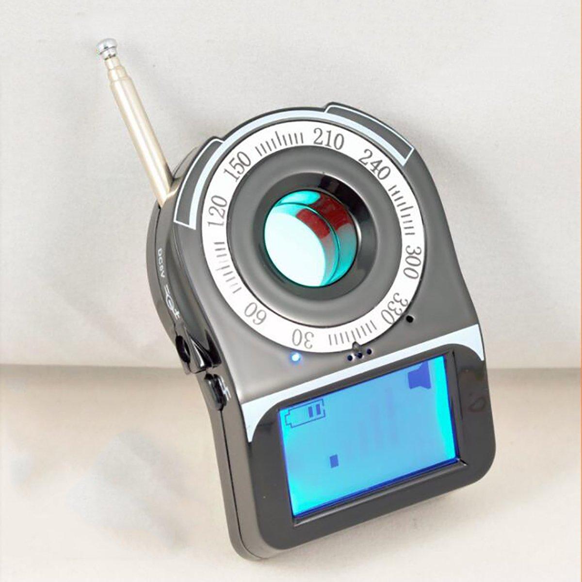 隠しカメラ探知機 盗聴器盗撮器 カメラ発見器 高性能 ワイヤレス、有線 盗聴盗撮防止 防犯グッズ 光学式有線カメラ発見器 B07BKQB6HN