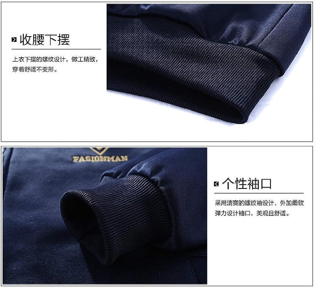 BAYYMen Embroidery Comfort Oversize Soft Plush Sweatsuit Pants Set