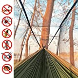 Single & Double Camping Hammock with Mosquito/Bug