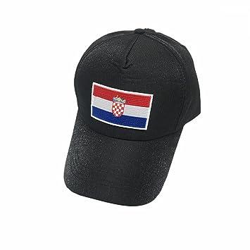 2018 Croacia Gorras De Béisbol De La FIFA Moda Unisex Gris Gorras De Tenis  De La ce6d688f0d1