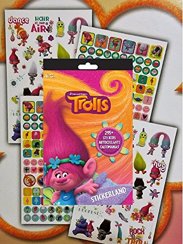 Trolls Reward Stickers 295 Count