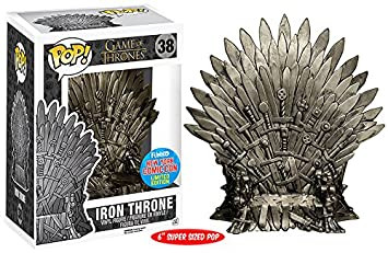 Funko Pop! Game Of Thrones Iron Throne #38 Nycc 2015 Exclusive by Fun Ko
