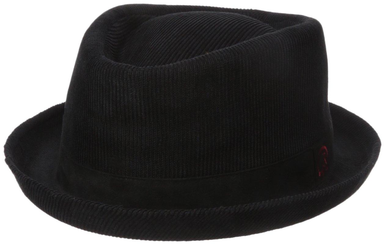 Robert Graham Headwear Men's Loon Lake Diamond, Black X-Large