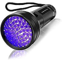 UV Flashlight Black light UV Lights , Vansky 51 LED Blacklight Pet Urine Detector For Dog/Cat…