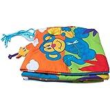 Edealing 1PCS Kid Animal Cloth libro infantil Desarrollo Inteligencia bebé de juguete cama ¡Estudia Libros