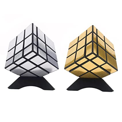 Amazon com: Miraculous Joy 3x3 gold&silver Profiled mirror