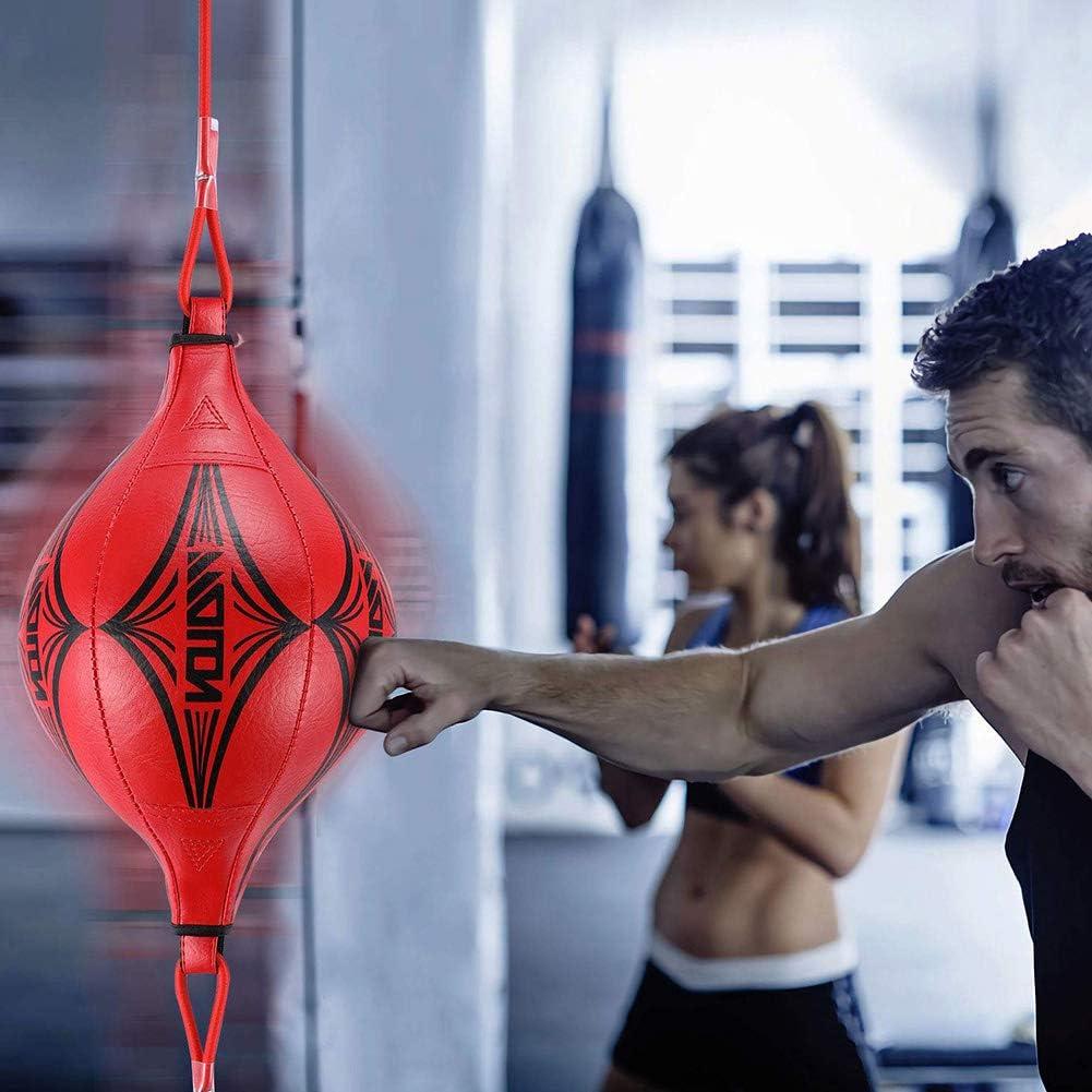 Borstu Boxing Reflex Ball Bola de reacci/ón de Doble Correa Bolas de perforaci/ón exquisitas para Artes Marciales Mixtas Boxeo peleas