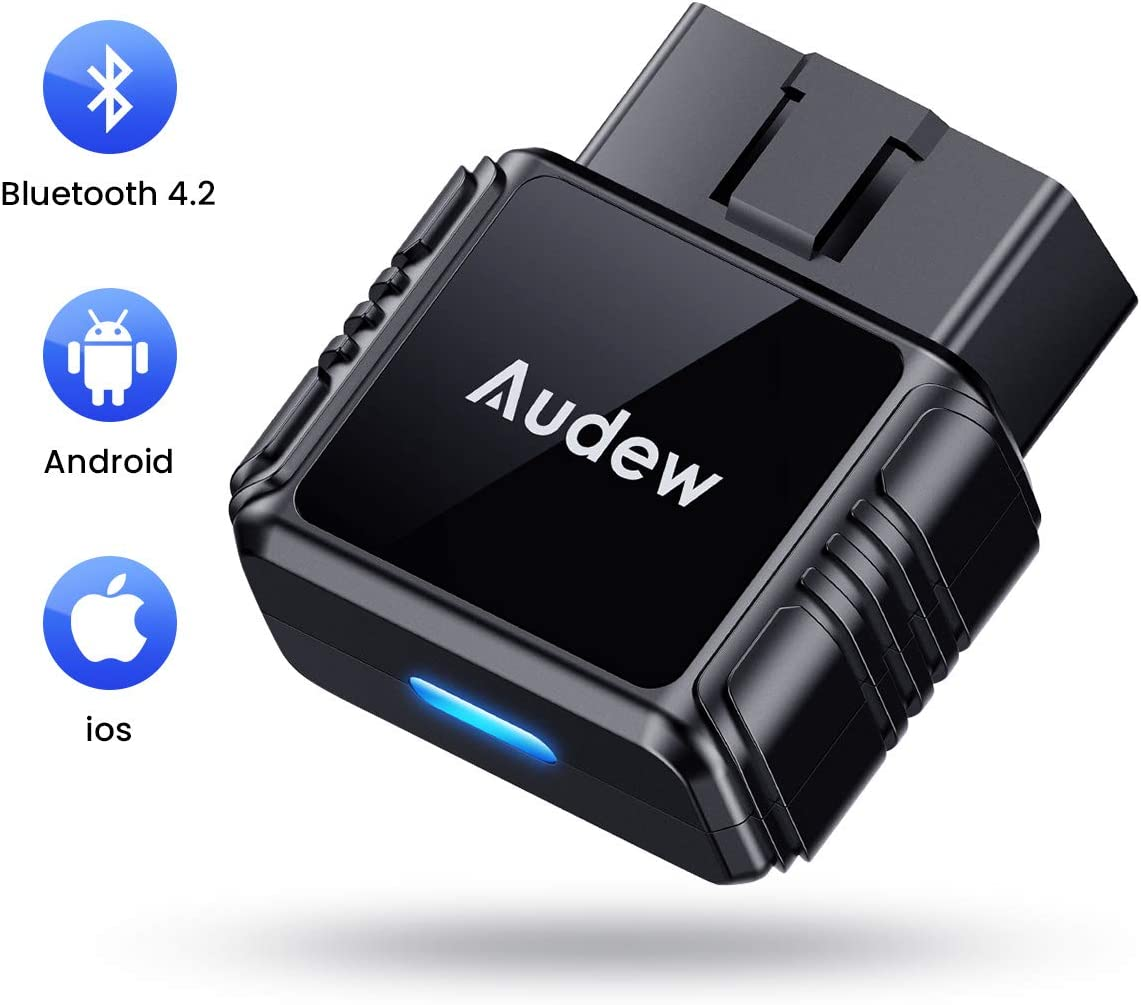 OBD 2 Bluetooth Adapter and App WOHOOH Obd2 Bluetooth Scanner Compatible with All Phone /& Windows Devices/ Car Diagnostic Tool Mini Car Check Engine Light Code Reader