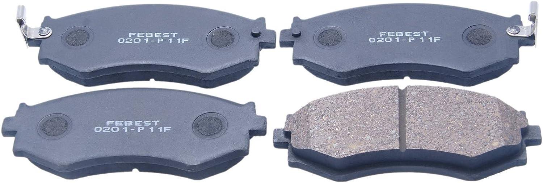 For 1989-1994 Nissan Maxima Hart Brakes Front Rear Ceramic Brake Pads