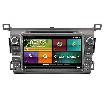 autosion coche reproductor de DVD GPS Radio estéreo unidad central para Toyota RAV4 2013 2014 2015