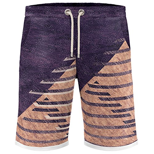 Blowhammer - Bermuda Shorts Herren - Purple Box