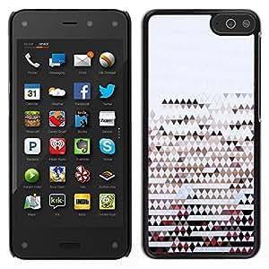 """Pulsar Snap-on Series Teléfono Carcasa Funda Case Caso para Amazon Fire Phone 4.7 , Banderas Modelo abstracto Clean Argyle"""""""