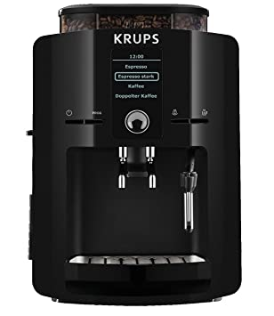 Krups EA8250 - Máquina de café, LCD, color negro, 1450 W: Amazon.es: Hogar