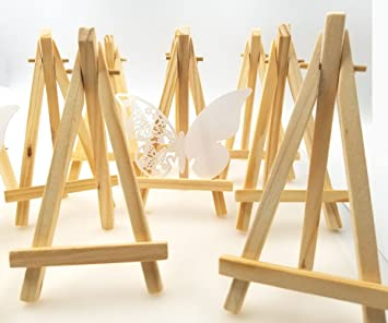 JZK 10 Cavalletto segnaposto foto mini cavalletti piccoli legno ...