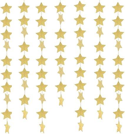 guirlande de papier banderoles bannière suspendue décoration pour la fête