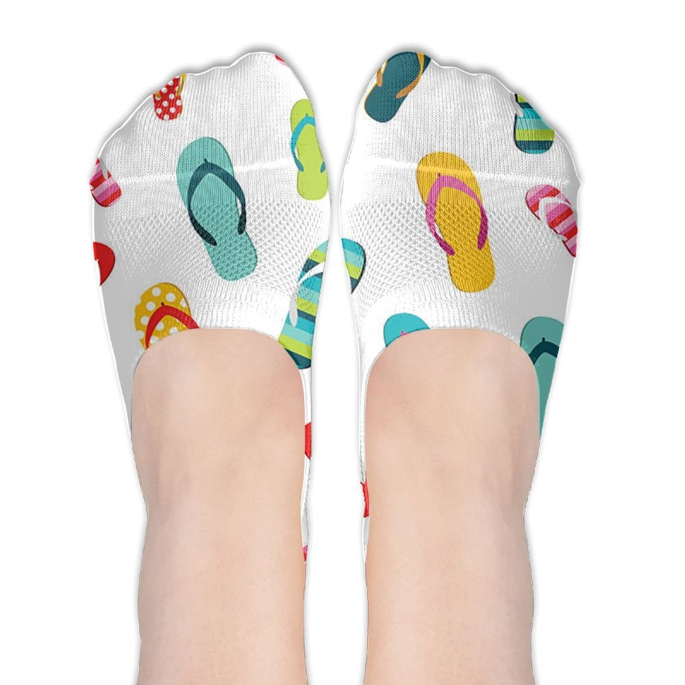 63ba310c86af97 Valentine s Day Fashion Flip Flops Women s Low Cut No-Show Socks For Female  For Running at Amazon Women s Clothing store