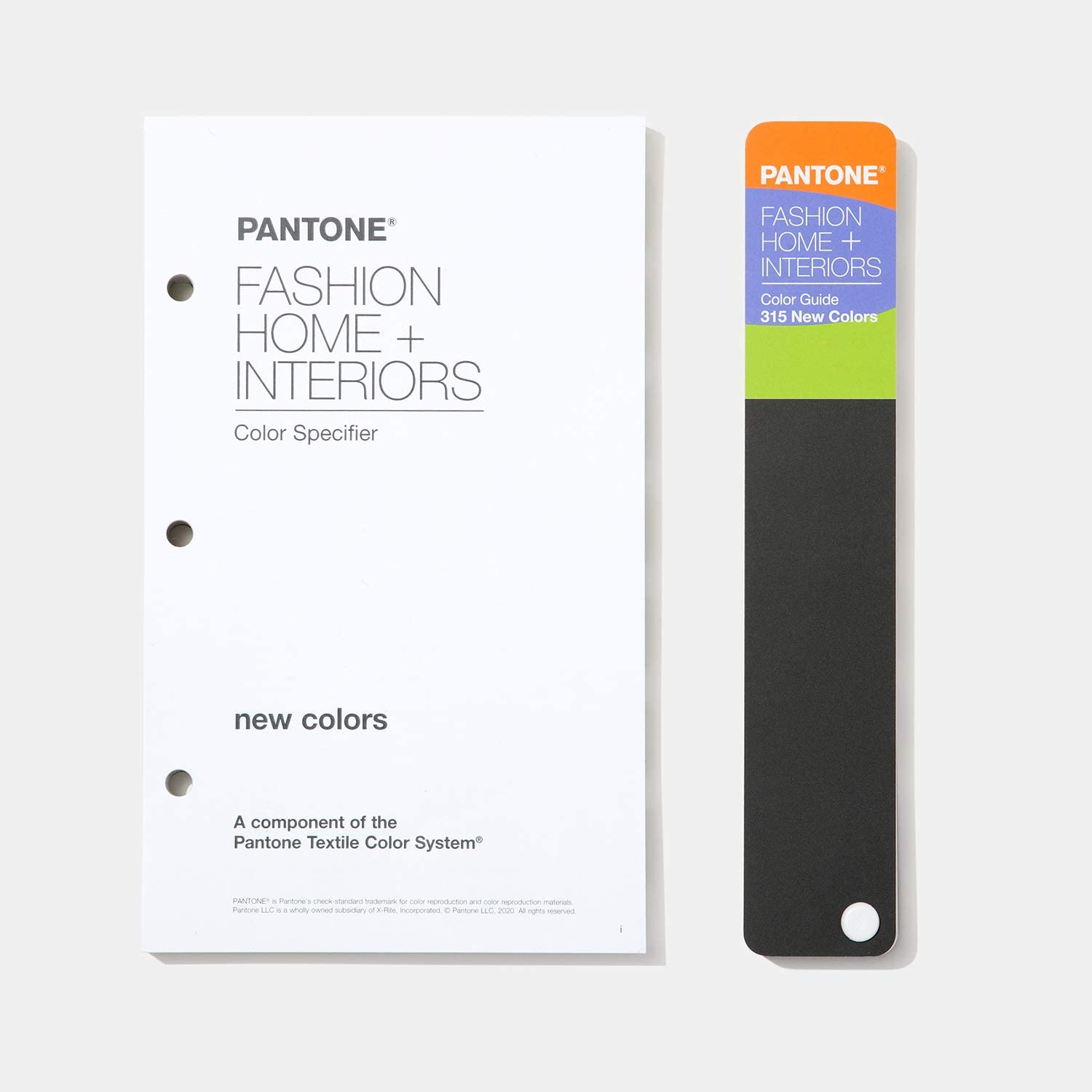 Pantone Color Specifier + Guide Supplement for Fashion, Home & Interiors - 2020 Edition