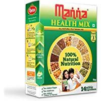 Manna Health Mix, 100% Natural Breakfast Porridge Without Preservatives & Added Sugars, 1Kg Pack