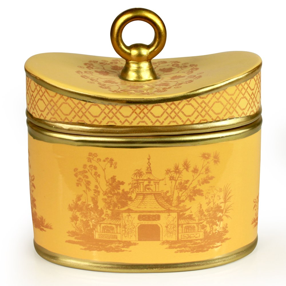 Seda France Jardins Du Ceramic 2-Wick Candle, Asian Pear, 20 Ounce (Pack of 8)