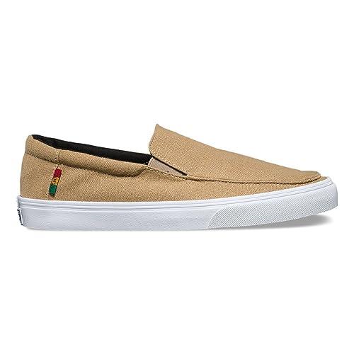 a677282a25 Vans Bali SF Khaki Rasta White Surf Shoes -Men 8.0