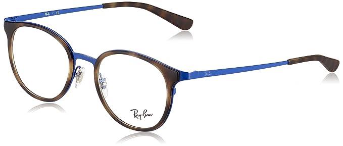 1315f1a862e Amazon.com  Ray-Ban Women s RX6372M Eyeglasses Blue 50mm  Clothing