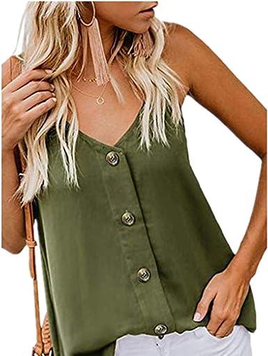 Vectry Camisetas De Fitness para Mujer Chaleco Deportivo Mujer Camiseta De Tirantes Mujer Blusa Estampada Mujer Camisetas De Hombro Caido Camiseta Mujer Verano Camiseta: Amazon.es: Ropa y accesorios