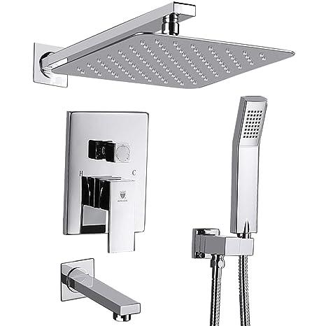 Dusche Systeme Wand Montiert Dusche Combo Set Mit Hohem Druck 25 4