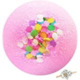 Marshmallow Bomb Bath Bomb with Jewellery Inside (Surprise 925 Sterling Silver Jewellery Valued at $90 to $5,000) Ring Size 6 - Royal Essence