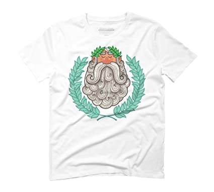 Victor Portrait Men's Small White Graphic T-Shirt - Design By Humans