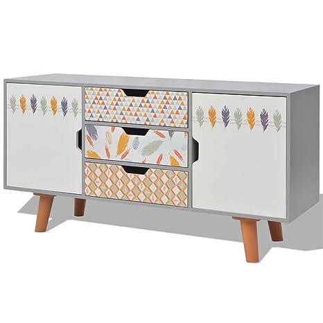 UnfadeMemory Aparador Comedor con Diseño Escandinavo,Mueble ...
