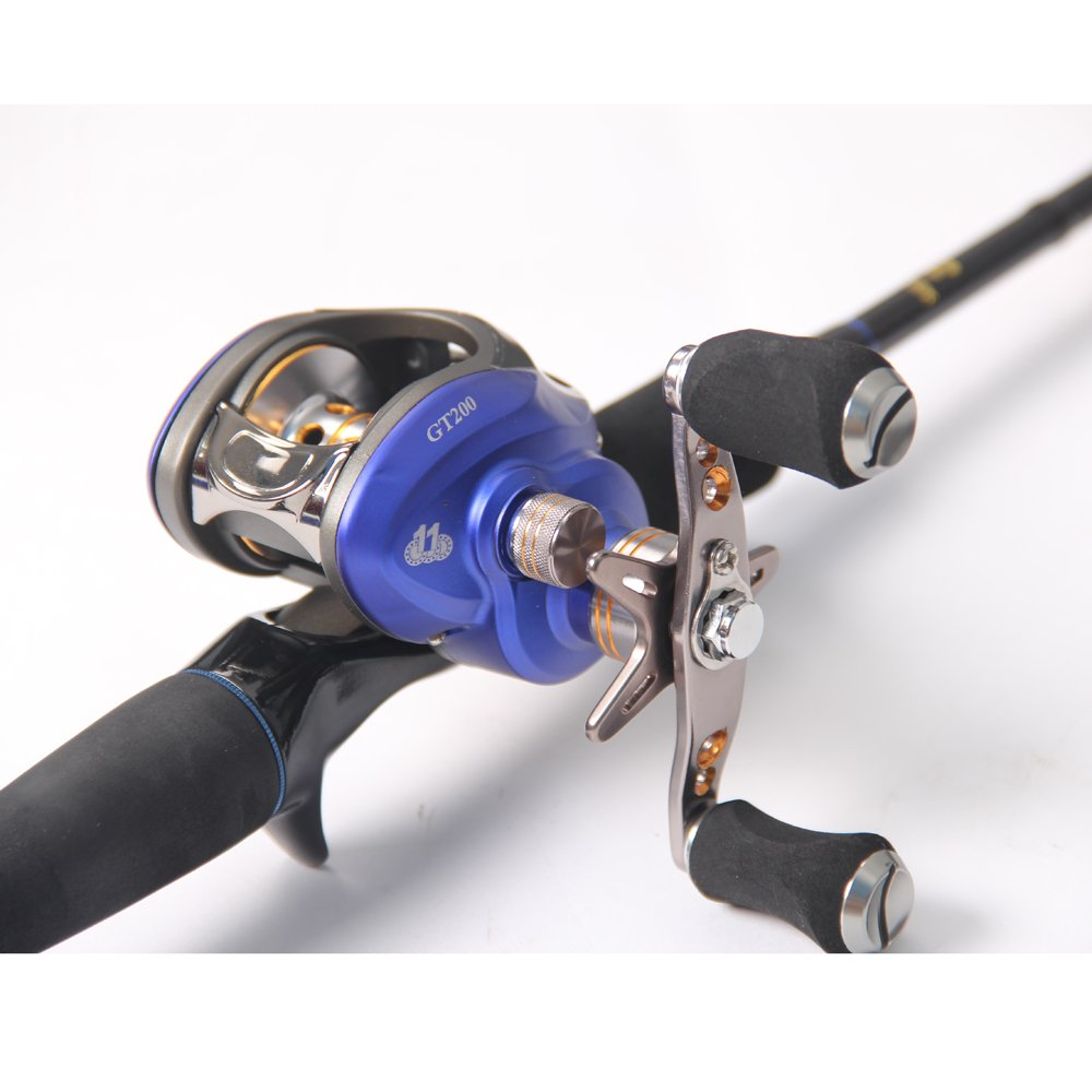 Entsport saltwater casting reel low profile baitcasting for Baitcasting fishing reel