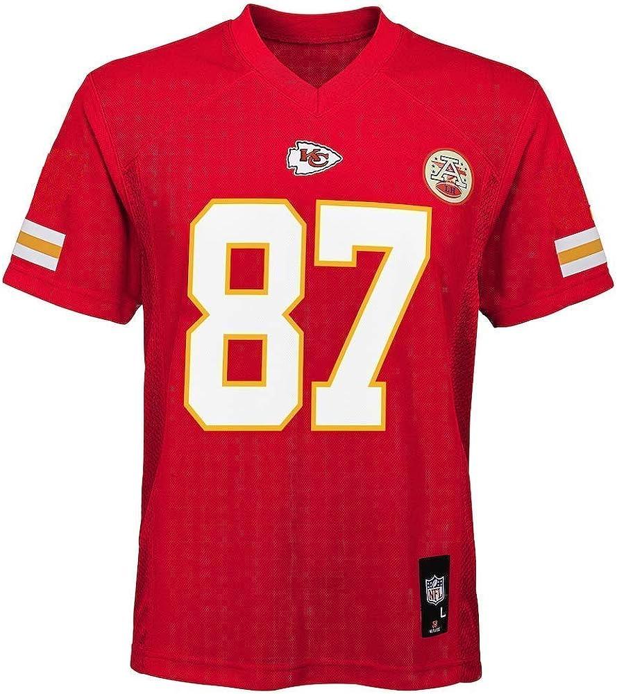 Outerstuff Travis Kelce Kansas City Chiefs NFL Toddler 2-4 Red Home Mid-Tier Jersey