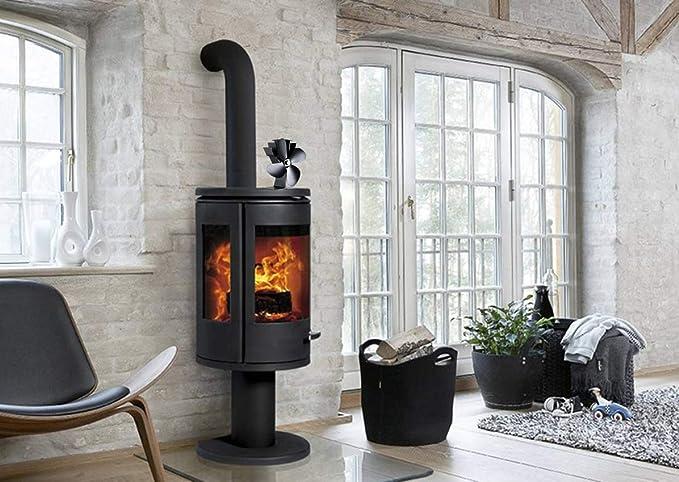 Ventilador de cocina de 4 aspas, aspa de ventilador extendida y ...