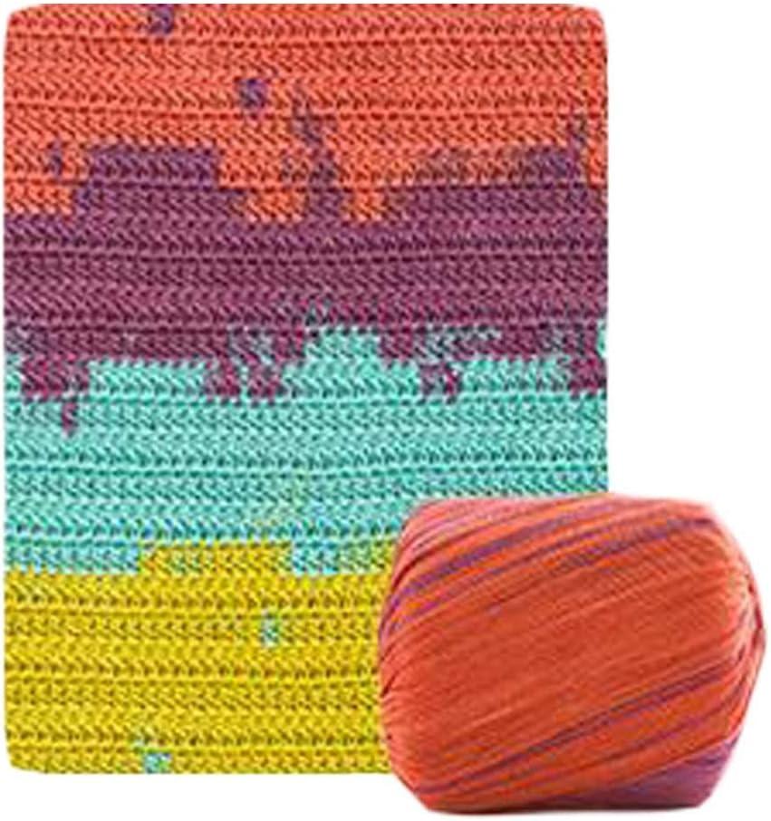 Pigeon Fleet 2 madejas Hilo de Encaje Colorido Hilo de algodón Hilo de Ganchillo para Tejer Cesta Bolso: Amazon.es: Hogar