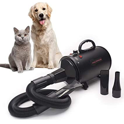 Secador De Animales Low Noise Profesional Dog Cat Grooming Dryer Blower Motor Súper Cálido Viento Grande