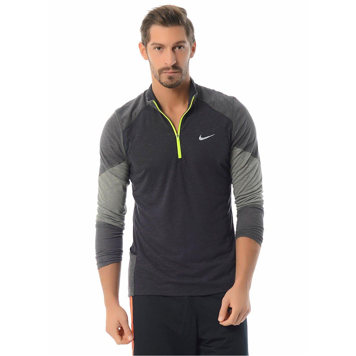 NIKE Men/'s Trail Kiger Half-Zip Running Shirt 620100-328