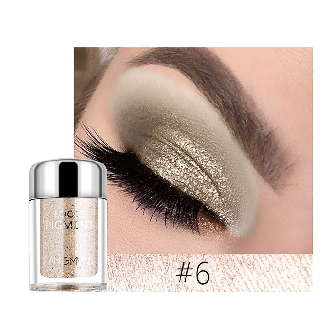 callm Shimmer Glitter Eye Shadow Powder Palette 18 Colors Matte Eyeshadow Cosmetic Makeup