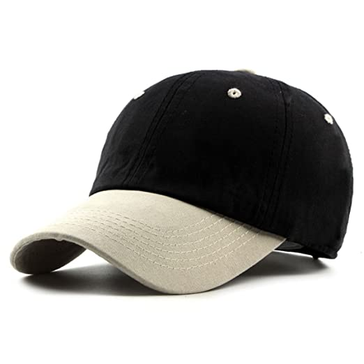 c8bb9c6c5d5 ZLSLZ Men s Unisex Youth Cotton Splice Baseball Caps Adjustable Truckers  Golf Hats at Amazon Men s Clothing store