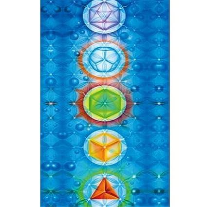 Toalla de yoga con diseño de arcoíris hippie chakra, tapices ...