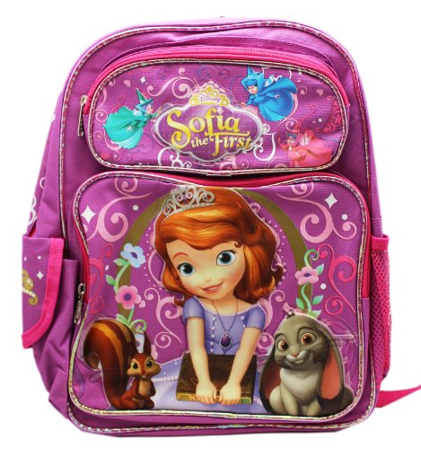 Price comparison product image Backpack - Disney - Sofia the First - Animals Large School Bag New a03280