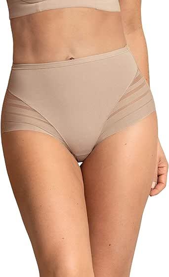 Leonisa Women's No Show Invisible Comfy Tummy Control Classic Panty