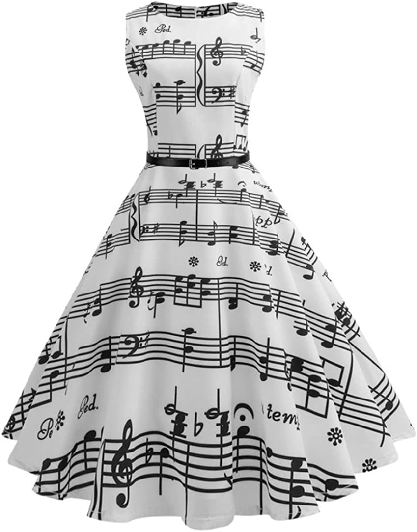 Kleider Damen Pullover Kleid Elegant Brautjungfernkleid Petticoat Lange /Ärmel Hepburn Rockabilly Herbst Winter Vintage Sleeve Abend Druck Party Prom Swing Kleid