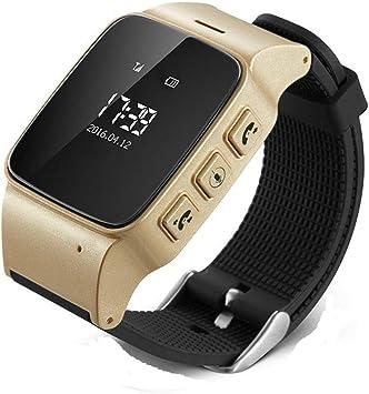 BAIJ GPS Tracker Watch, Anciano Smart Watch GPS WiFi Tracker Sos ...