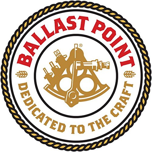 Ballast Point Brewing - Dedicated to the Craft - Round Logo Sticker (River Limited Edition)