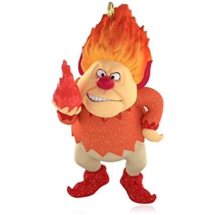 Amazon.com: The Year Without A Santa Claus - Heat Miser Ornament ...