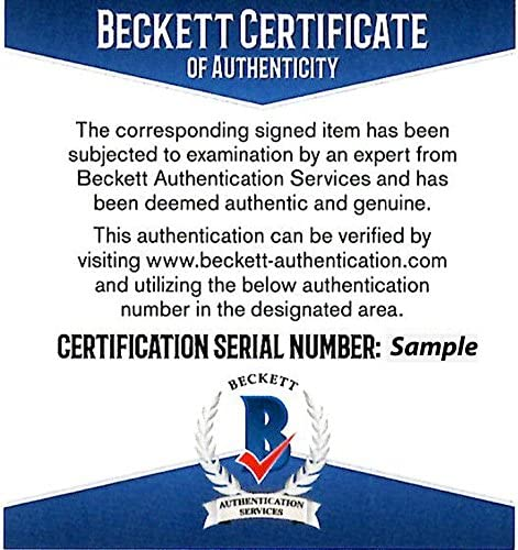 8x10 Punch Out Beckett BAS Stock #159661 Beckett Authentication Autographed Mike Tyson Photograph